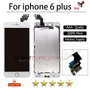 For-iPhone-6-Plus-5-5-034-LCD-Touch-Screen-Display-Replacement-Home-Button-Camera