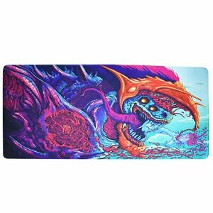 Large-Extended-Gaming-Mouse-Pad-XXL-900-400mm-Big-Size-Desk-Mat-Laptop-Computer