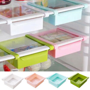 UK-Slide-Kitchen-Fridge-Freezer-Space-Saver-Organizer-Storage-Rack-Shelf-Holder
