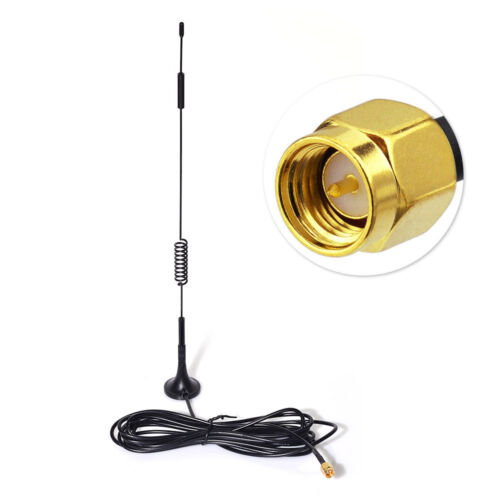 868Mhz 4G Antenna 7dbi SMA Male Signal Booster 3m for 4G LTE Wireless Homematic