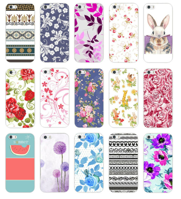 Various Fashion Pattern Design Hard Back Case Cover For iphone 5 5S 5C 6 6PLUS