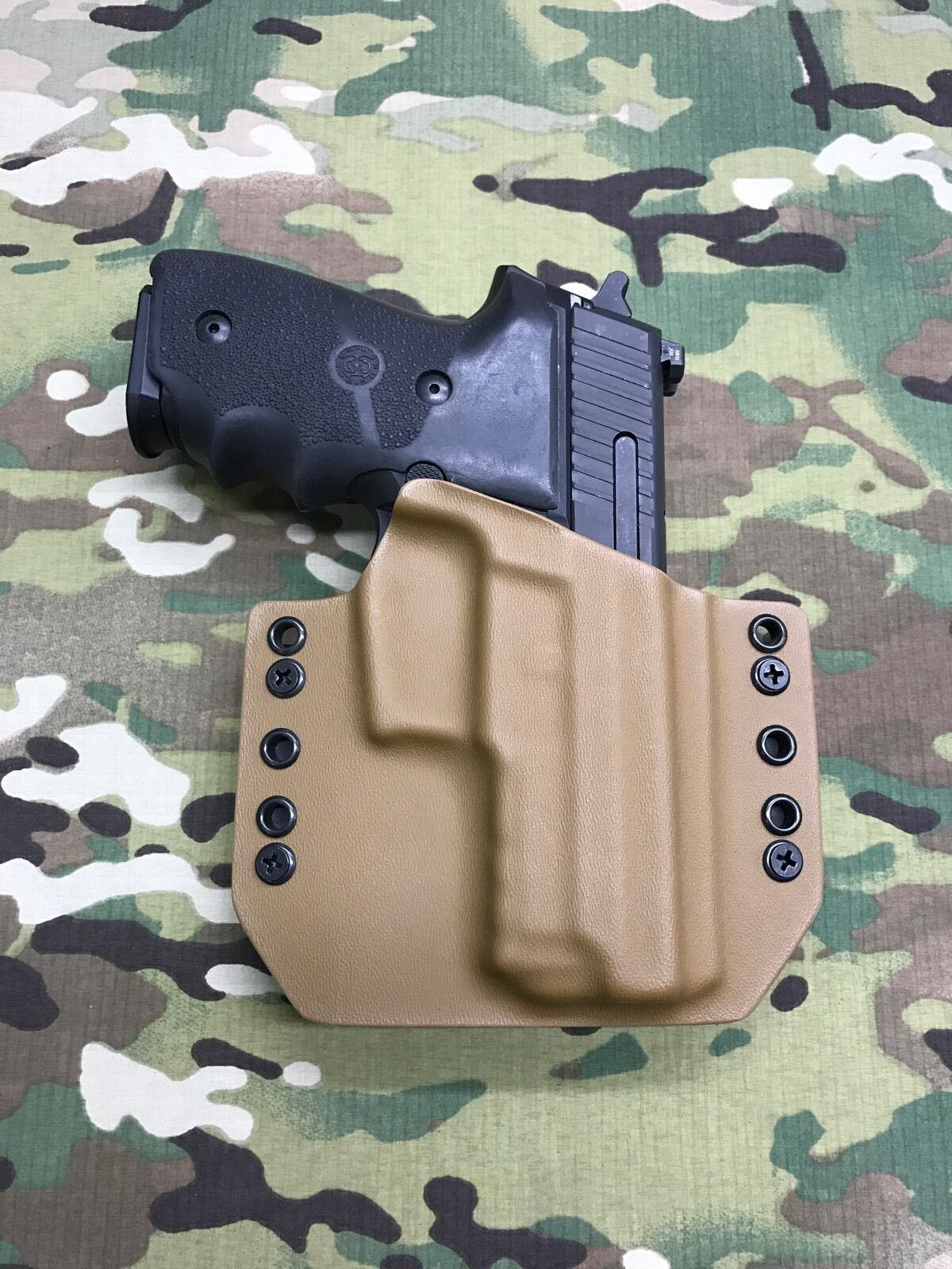 Coyote Tan Kydex Holster Sig Sauer P229R
