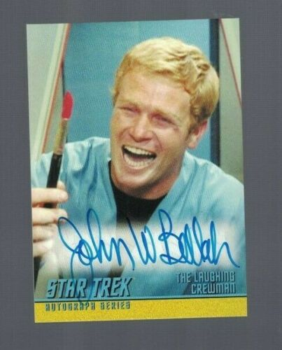 John Bellah 2017 Star Trek Original Series Rittenhouse Autographed Card