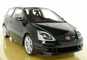 DNA-1-18-Scale-Honda-Civic-Type-R-EP3-Black-Facelift-Resin-Model-Car