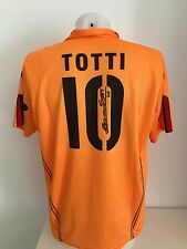 maglia calcio AS Roma 10 Totti capitano autografata signs  shirt rare soccer