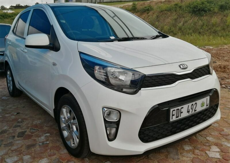 White Kia Picanto 1.2 Style with 3400km available now!