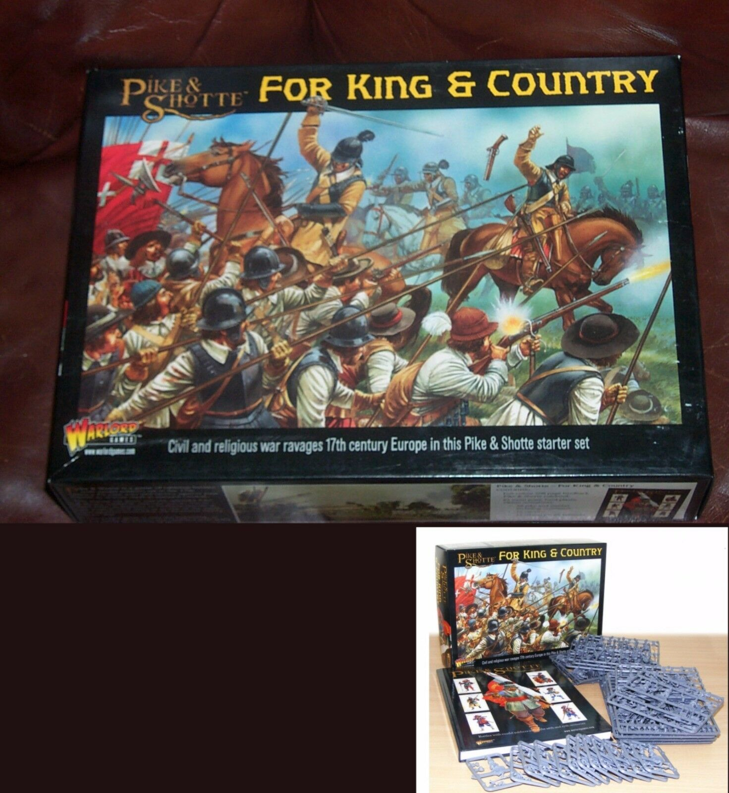 Pike & Shotte WGP-START-01 For King & Country Starter Set ECW TYW Miniatures NIB