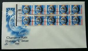 [SJ] USA Earth 1988 Space Astronomy (booklet FDC)