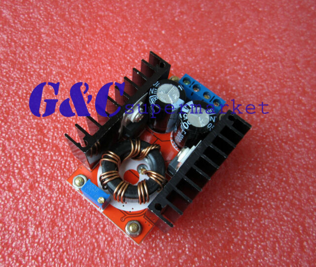 150W 10-32V to 12-35V 6A Step Up Voltage Charger Power DC-DC Boost Converter M26