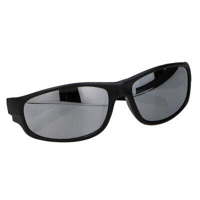 Occhiale Da Sole Sportivo Penn Unisex Nero Con Lenti Specchio Grigie Asciugare Senza Stirare