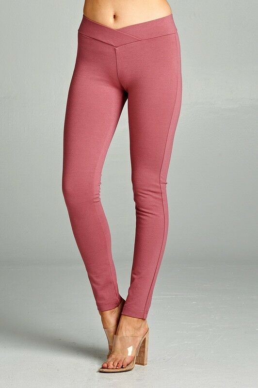 13570ff44ce0e Women Ponte Pants Trousers Skinny Jeggings Stretchy Work Casual Sale