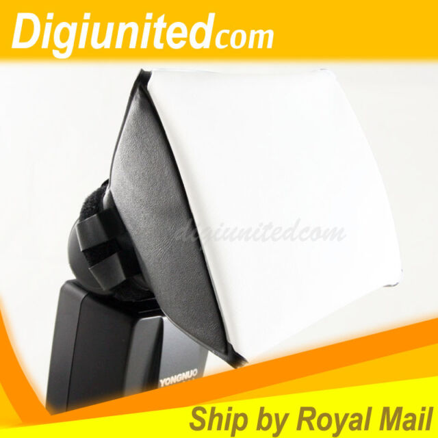 New Universal Flash Softbox Diffuser Studio for Nikon Canon Sony Pentax DSLR UK
