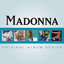 Madonna ORIGINAL ALBUM SERIES Box Set TRUE BLUE Like A Prayer MUSIC New 5 CD