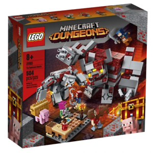 LEGO-21163-Minecraft-The-Redstone-Battle-Brand-New-Sealed