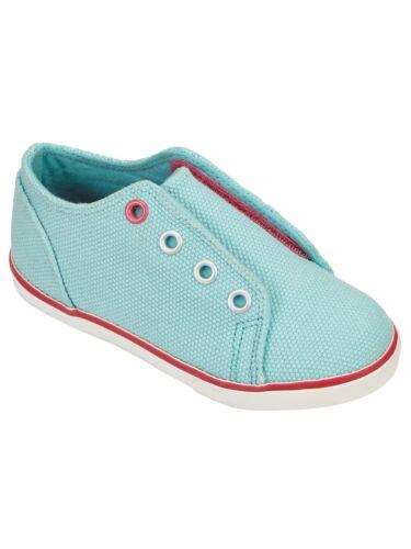 UK 2 John Lewis Coco Plain Turquoise Trainers Kids UK 1 UK 4 Brand New RRP £15