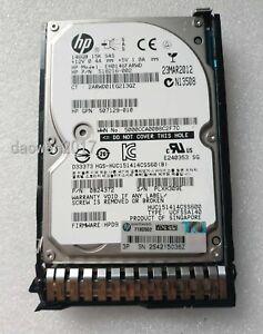 """HP 652605-B21 653950-001 146GB 2.5/"""" Hard Drive  6Gb//s SAS 15K SC Enterprise"""