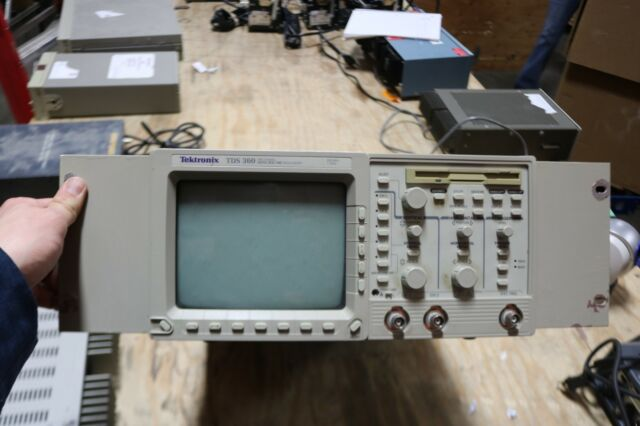 TEKTRONIX TDS360 Digital Oscilloscope 200MHz 2-ch 1 GS/s