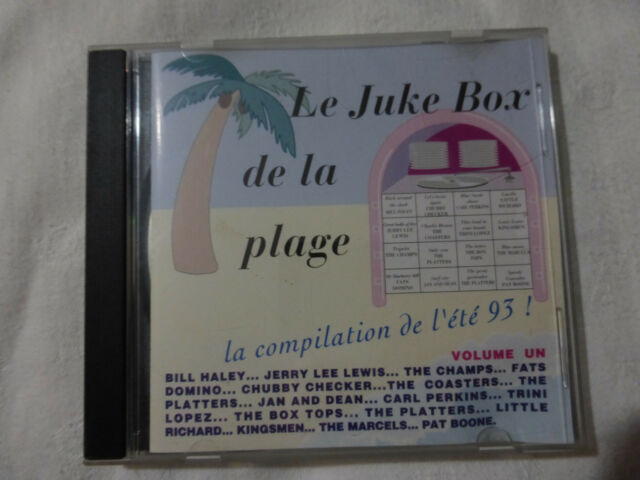 le juke box de la plage volume 1-la compilation de l'été 93-CD