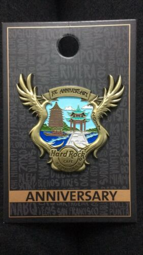 "2017 China Hard Rock Cafe HangZhou /""1st Anniversary/"" Pin"
