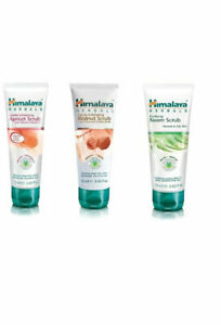 Himalaya-Gentle-Apricot-Face-Scrub-Gentle-Walnut-Scrub-Purifying-Neem-Scrub-75gm