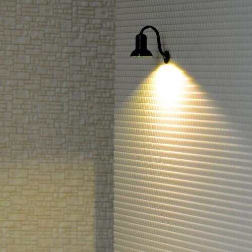 4 x O gauge LED street wall light model train path lamp post resistors #R56O