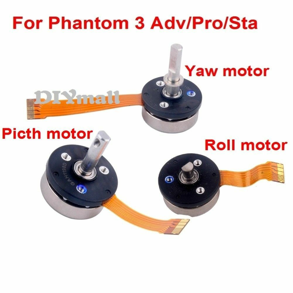 Phantom 3 Roll Motor /Yaw Motor /Pitch Motor For DJI Phantom 3 Adv/Pro/Sta