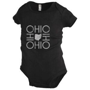 Ohio Infant Bodysuit Baby Ohio Bodysuit One Piece Shirt