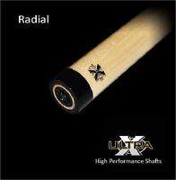 Tiger Ultra-x Pool Cue Shaft Xsh-r W/ Radial Pin Free Shipping