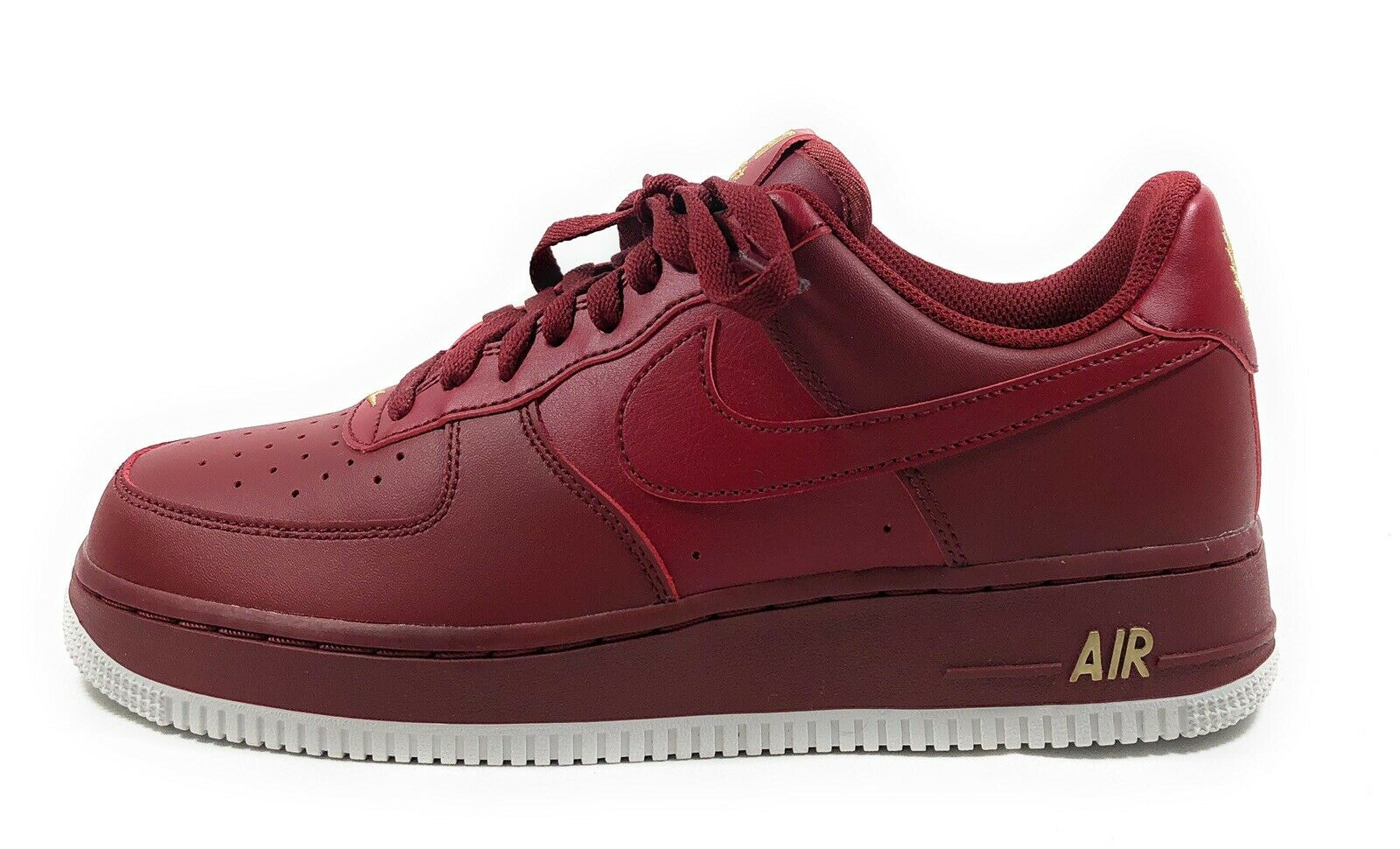 Nike Force 1'07 para hombre hombre hombre Air Team Rojo Low Top Estilo de vida zapatillas AA4083-603 Talla 12 6effee