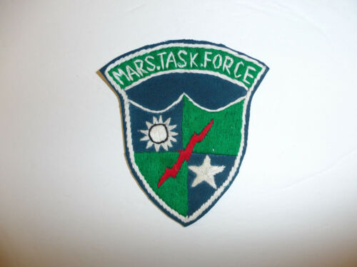 b1824 WW2 US Army CBI 5307th Merrill/'s Marauders Mars Task Force atch tab R4C