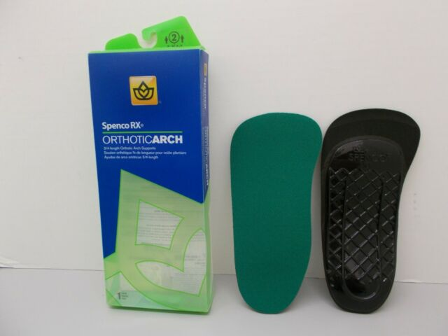 Spenco Rx Orthotic Arch Support Full Length Shoe Insoles Men/'s 12-13.5