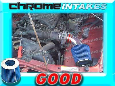K/&N+BLUE RED 98 99-04 ISUZU RODEO//TROOPER//PASSPORT//SLX 3.2L//3.5L V6 AIR INTAKE