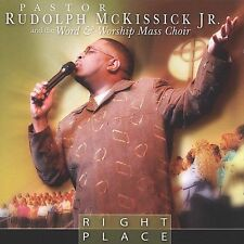 FREE US SHIP. on ANY 2 CDs! NEW CD Rudolph Mckissick Jr: Right Place