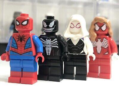 VENOM SPIDER GIRL MARVEL SPIDERMAN VILLAIN fits lego figure K7