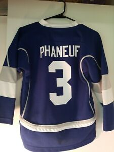 3-Dion-PHANEUF-Toronto-MAPLE-LEAFS-Replica-ALTERNATE-Jersey-Size-Youth-S-M