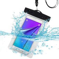 2x/PK Waterproof Pouch Dry Bag iPhone Samsung Water Sports Underwater Shooting