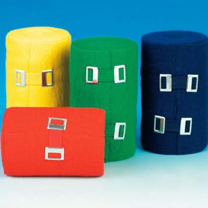 VE: 10 Stück 6 Farben 4 verschiedene Größen SERVOSPORT  Color Bandagen