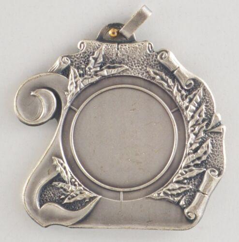 bronzefarben Reste Schwere Medaillen Metall 55mm incl 25mm Emblem silber Pokale & Preise