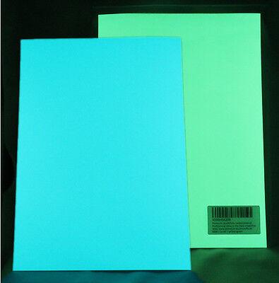 Kraftvoll Premium Leuchtfolie - Selbstleuchtende Farbfolie. Selbstklebendes Leuchtpapier. Duftendes (In) Aroma