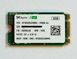 Sk Hynix M2 Ssd 32 Gb 42 Mm M B Key 6 Gb S 2242 B M M 2 Festplatte Ebay