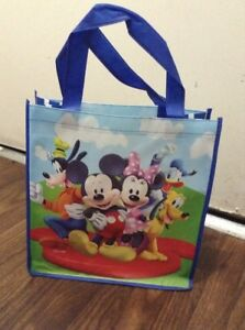 49f58dbd4d Image is loading Disney-Mickey-Mouse-Minnie-Goofy-Pluto-Reusable-Tote-