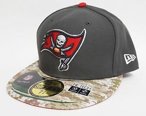 New Era 59FIFTY TAMPA BAY BUCCANEERS SALUTE TO SERVICE Hat ONFIELD ... c321e7bf663