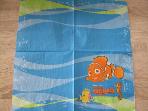 3 Servietten Fisch Nemo