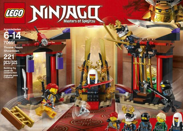 Lego Ninjago Spinjitzu 70651 Throne Room Showdown 221 pcs Ages 6-14 NEW IN BOX