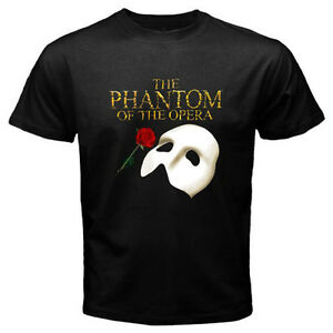 The-Phantom-of-The-Opera-Broadway-Show-Musical-Men-039-s-Black-T-shirt-Size-S-to-3XL