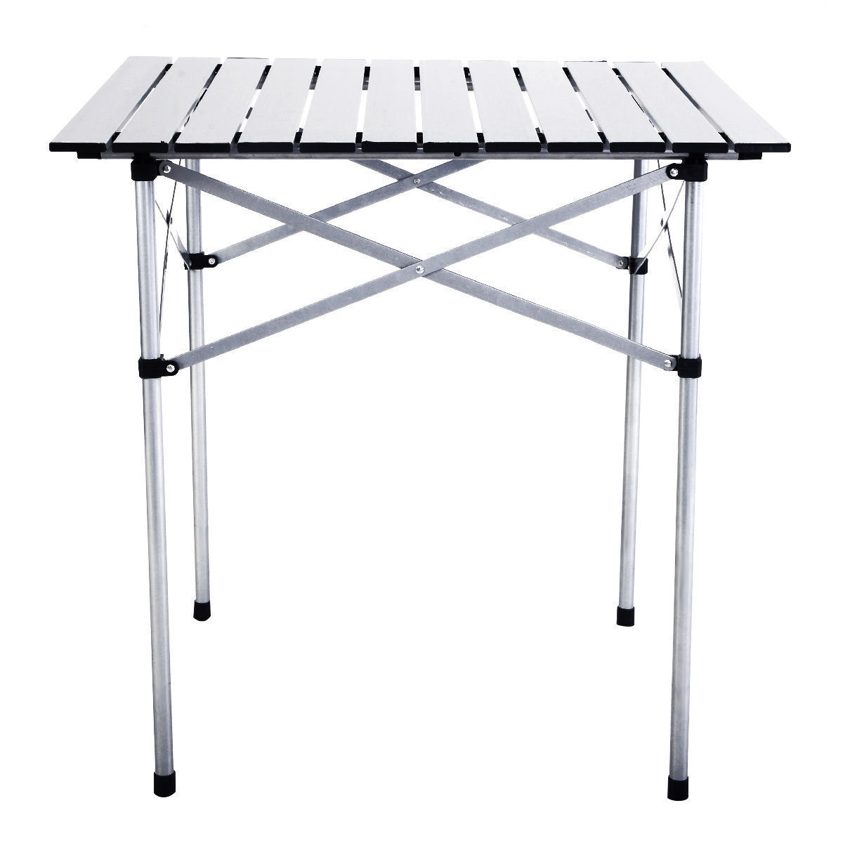 Outdoor Portable Roll Up Folding  Camping Square Aluminum Picnic Party BBQ Table  limited edition
