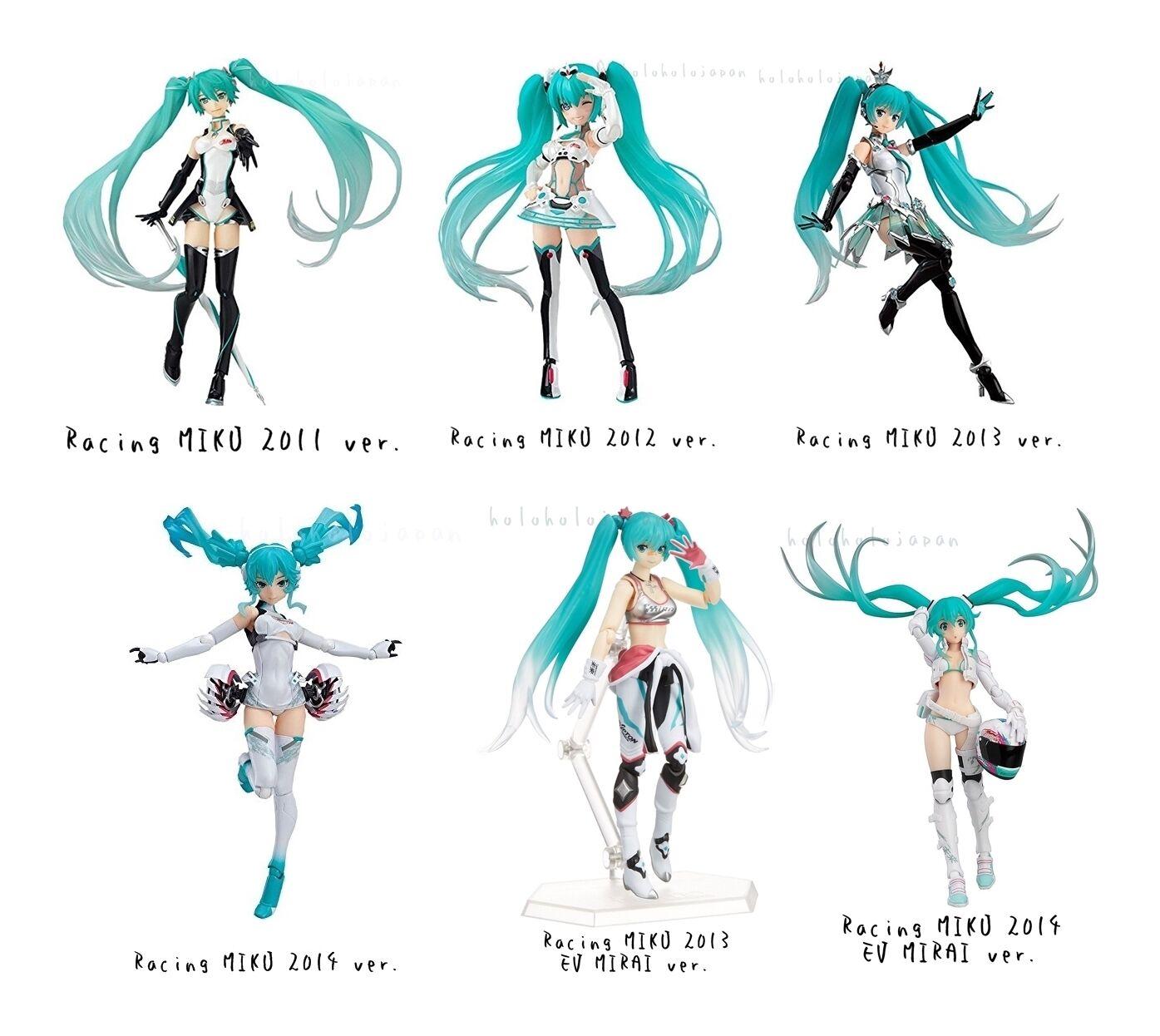 Figma   Racig MIKU   Hatsune Miku GT Project Action Figure genuine from Japan
