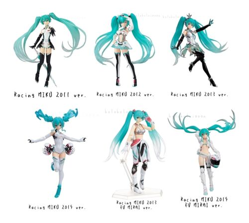 "figma "" Racig MIKU "" Hatsune Miku GT Project Action Figure genuine from Japan"