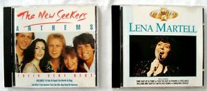 2 x CDs Easy Listening   LENA MARTELL A Golden Hour Of  NEW SEEKERS Anthems - <span itemprop=availableAtOrFrom>Brighton, United Kingdom</span> - Returns accepted Most purchases from business sellers are protected by the Consumer Contract Regulations 2013 which give you the right to cancel the purchase within 14 days after the day - Brighton, United Kingdom