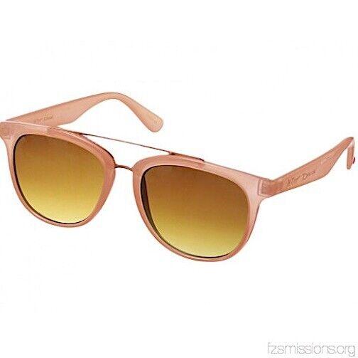 NWT Betsey Johnson Retro Brow Bar Pink Sunglasses BJ863133
